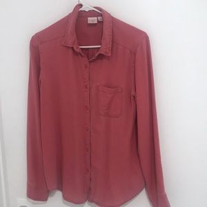 Super Soft Red Button Down from Nordstrom BP